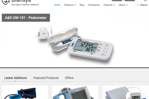 Blansya Medical Pedometer