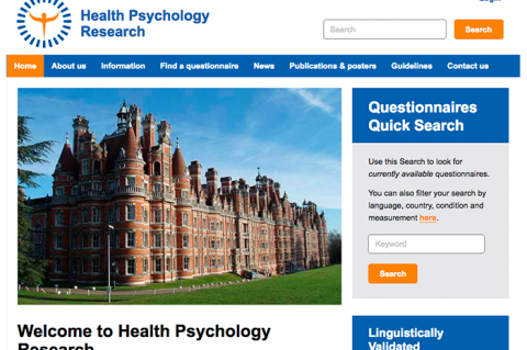 Health Psychology Research Website