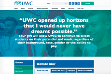 United World Colleges Website